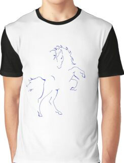 """Kelly"" the Wild Horse Graphic T-Shirt"