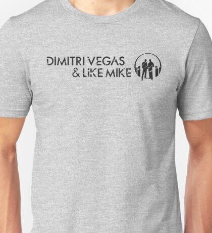 Dimitri Vegas & Like Mike  Unisex T-Shirt