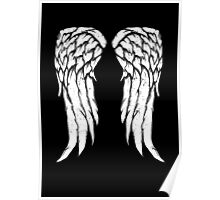 Daryl Dixon Wings - Zombie Poster
