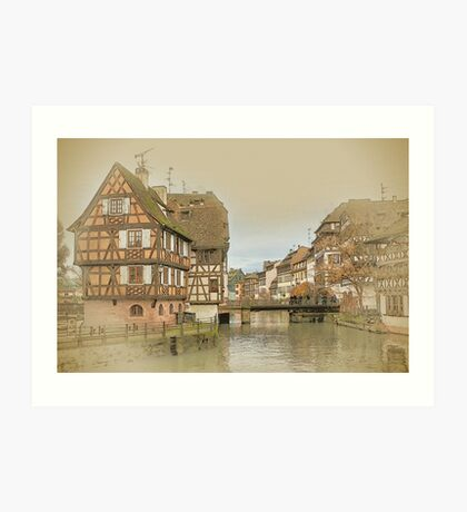 Little France, Strasbourg Art Print