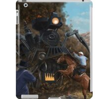 Monster Train attacking Cowboys iPad Case/Skin