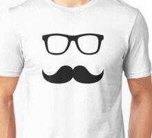 Mustache glasses Unisex T-Shirt
