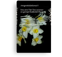 banner for group redfield Canvas Print