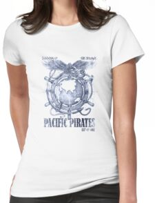 Pacific Pirates Womens Fitted T-Shirt