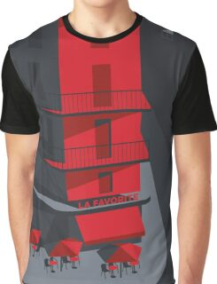 Paris Street Graphic T-Shirt