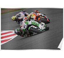 Silverstone MotoGP - Redding Poster