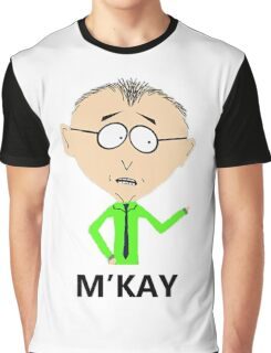 M'KAY Graphic T-Shirt