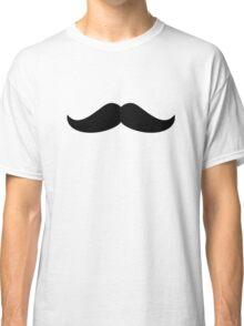 Black Mustache Classic T-Shirt