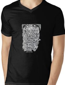 Witches and Devils by Brian Benson Mens V-Neck T-Shirt
