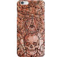 Skull in eyeland iPhone Case/Skin