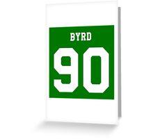 Byrd 90 Greeting Card