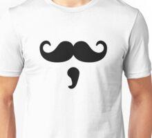Moustache beard Unisex T-Shirt