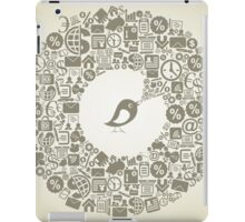 Bird business iPad Case/Skin