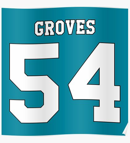 Quentin Groves 54 Poster