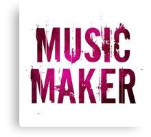 Music Maker Canvas Print