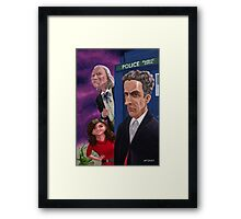 The Twelfth Doctor Who Framed Print