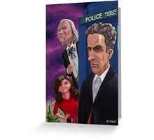 The Twelfth Doctor Who Greeting Card