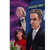 The Twelfth Doctor Who Photographic Print