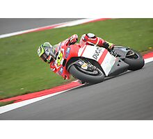 Silverstone MotoGP - Crutchlow Photographic Print