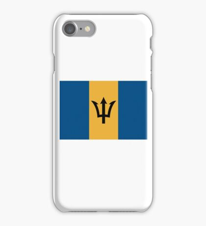 Barbados Flag II If you like, please purchase, try a cell phone cover thanks iPhone Case/Skin