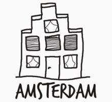 A mansion in Amsterdam One Piece - Short Sleeve