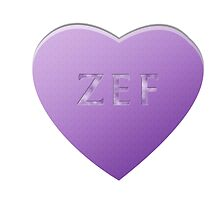 Zef Candy Heart - Lilac by LozMac