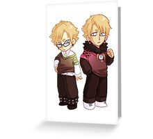 Virus and Trip DMMD Greeting Card