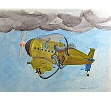 Peace Keepers Series—Airzeppelinplane Photographic Print