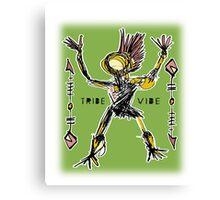 tribe dancer Canvas Print