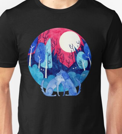 //Wolves in the Woods// Unisex T-Shirt