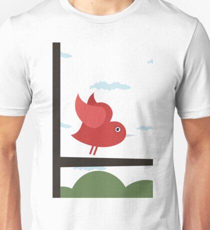 Bird of love Unisex T-Shirt