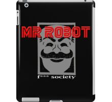 MR Robot TV Series iPad Case/Skin