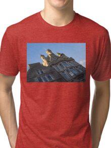 Silver City Architecture -  Tri-blend T-Shirt