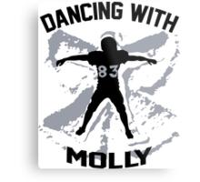 Wes Welker - Dancing With Molly - Denver Broncos Metal Print