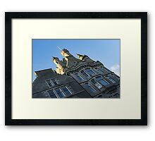 Silver City Architecture -  Framed Print