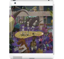 Cartoon Dinosaur Museum iPad Case/Skin
