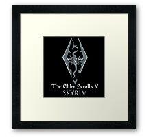 The Elder Scrolls V: Skyrim Framed Print
