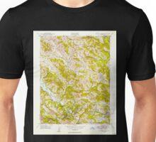 USGS TOPO Map California CA Briones Valley 288606 1947 24000 geo Unisex T-Shirt
