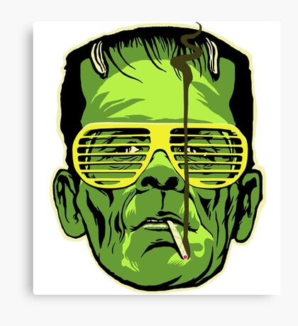Frankenstein 2 Canvas Print