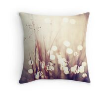 Glimmerings Throw Pillow