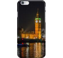 Westminster Skyline at Night iPhone Case/Skin