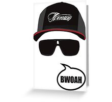 Iceman - Bwoah Greeting Card