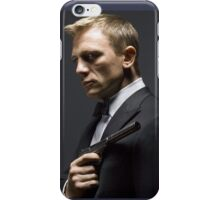 Daniel Craig as James Bond iPhone Case/Skin