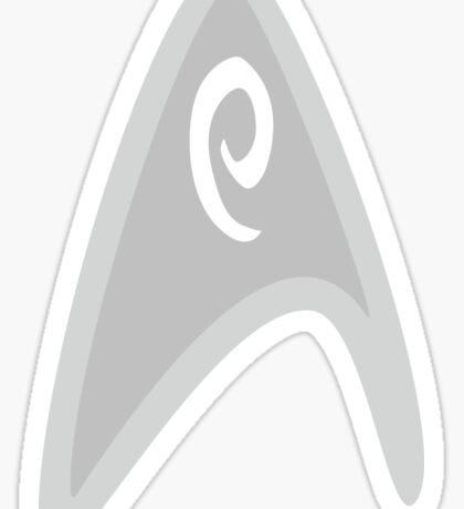 star trek engineering sticker Sticker