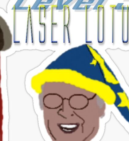 Community - Pierce, Laser Lotus Sticker