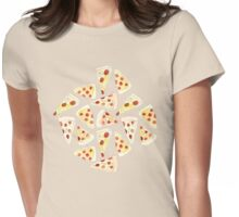 Plenty of Pizza Womens Fitted T-Shirt