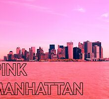 Pink Manhattan. by prestongeorge