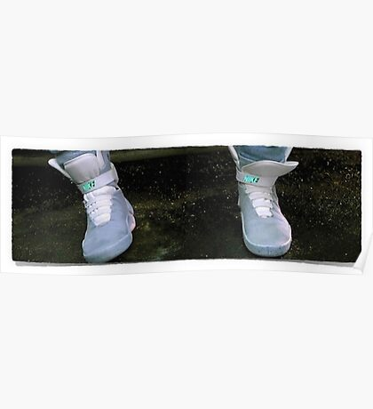 Shoes Marty McFly BTF  Poster