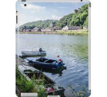 Boats at Dinant iPad Case/Skin