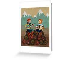 Foresters - Bear Duo Greeting Card